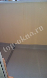 Остекление и отделка балкона на улице Лермонтовский проспект