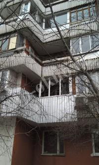 Остекление и отделка лоджия на улице Летчика Бабушкина